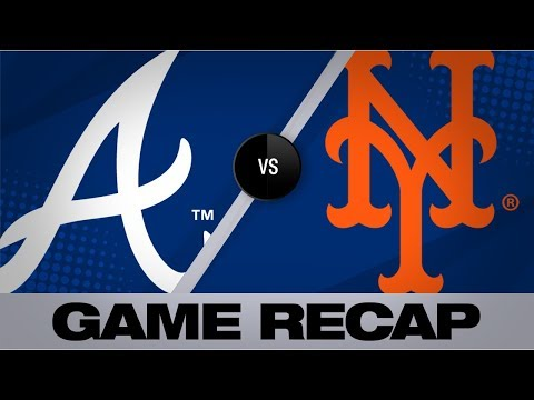 Video: Cervelli's 3 RBI's leads Braves to 9-5 win | Braves-Mets Game Highlights 8/24/19