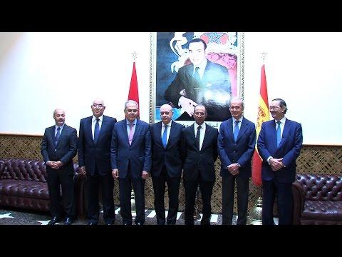 Réunion mixte des ministres de l'Intérieur et de la Défense du Maroc et de l'Espagne