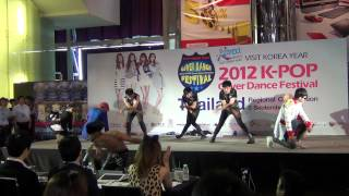 120908 Lollipop CZ Cover BIGBANG @2012 K-POP Cover Dance Festival(Thailand)