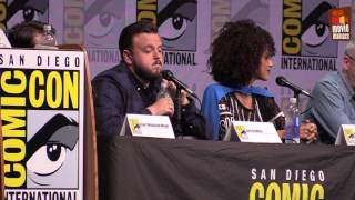 see part 2 of the Game of Thrones panel from San Diego Comic-Con 2017, with host Hodor himself -- actor Kristian Nairn and the...