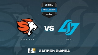 Selfless Gaming vs.Counter Logic Gaming - ESL Pro League S5 - de_cobblestone [flife]