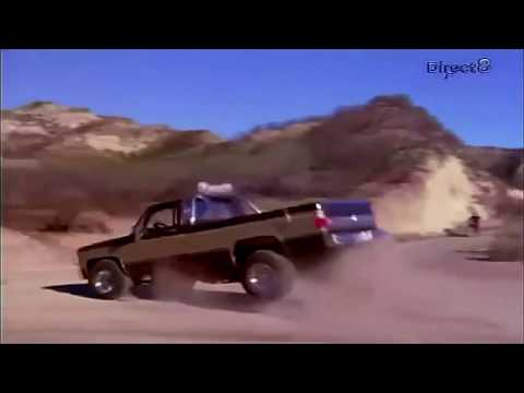 Fall Guy Mid Engine Stunt Truck Jumps Video by Kevin Webb