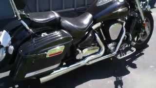 6. Mutazu Saddlebags ( 2005 Yamaha Road Star ) HL Hard Bags