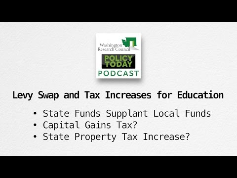 Policy Today: Levy Swap and Tax Increases for Education