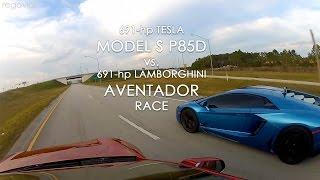 Lamborghiniよりも速い、電気自動車Tesla Model S P85D