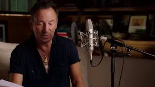 Bruce Springsteen reads from his autobiography 'Born To Run'