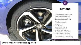 10. 2019 Honda Accord Sedan Sport 1.5T New 22455
