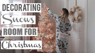 DECORATING WITH ME FOR CHRISTMAS *BABY'S ROOM* 2019 (REUPLOAD) | CHANNON ROSE by Channon Rose