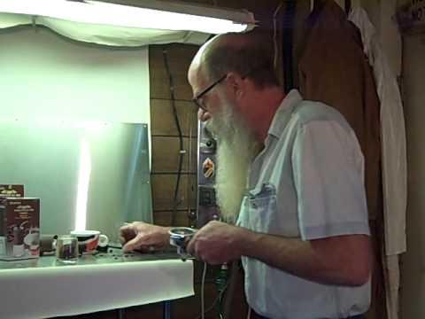 Kyocera Hand Grinder & Faema Wall Mount Espresso Machine Demo