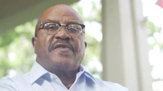 Charlie Crist forced Harry Singletary to watch as three African American prisoners in chains were being humiliated.  Singletary was the first African American to run the Florida prison system.