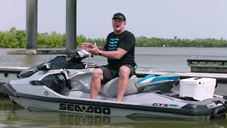 2021 Sea-Doo 7.8-Inch Panoramic Bluetooth Color Display