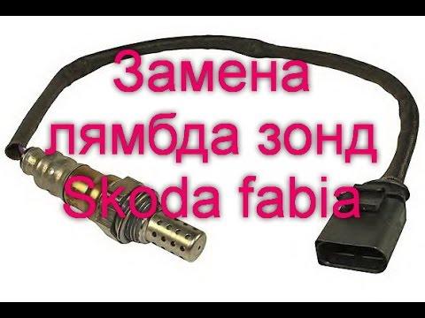 Skoda 1.6 лямбда зонд фотка