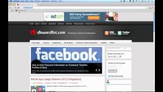 Google Chrome Tutorial for Mac 2012