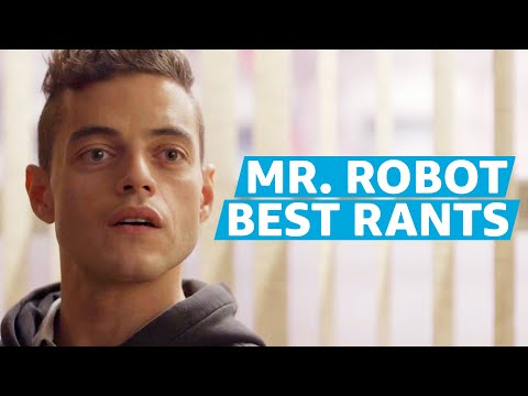 Rami Malek Ranting for 10 Straight Minutes in Mr. Robot | Prime Video