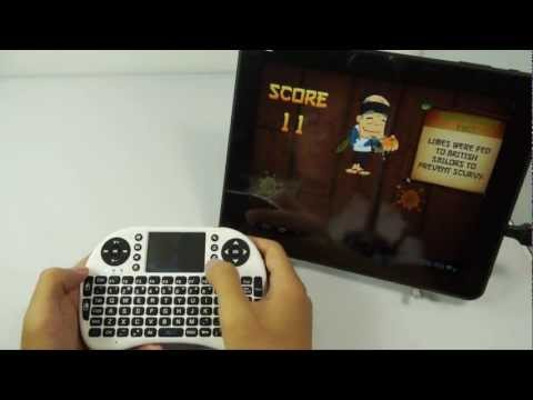 Rii Mini i8 Wireless 92-Key QWERTY Keyboard for PC/Tablet/Andriod TV Box/Xbox360/PS3/HTPC/IPTV