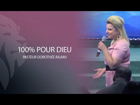Dorothée Rajiah - 100% pour Dieu