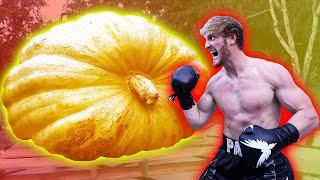 LOGAN PAUL VS. THE WORLD'S BIGGEST PUMPKIN!