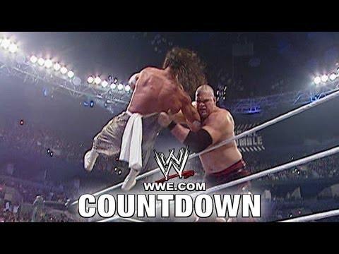 WWE Top 10 - Amazing Rumble Eliminations