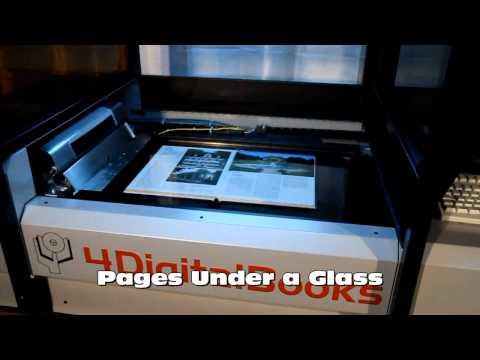 Scanner de carti automat MiniDL