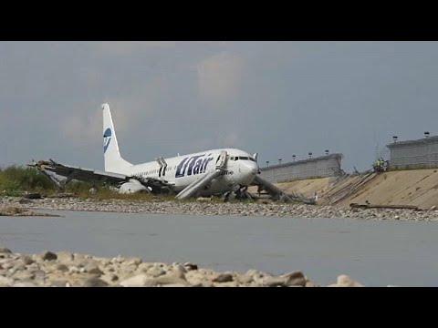 Ρωσία: Στις φλόγες τυλίχθηκε Boeing 737