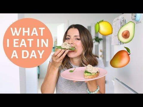 Nutrition - What I Eat in a Day  Easy and Healthy Meal Ideas