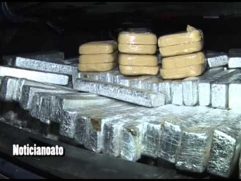 PRF e PM prendem traficante com 350 quilos de maconha e 11 de pasta base de cocaína