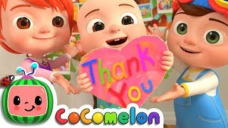 Video Thank You Song | CoCoMelon Nursery Rhymes & Kids Songs MP3, 3GP, MP4, WEBM, AVI, FLV April 2019