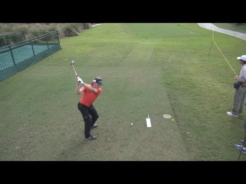 GOLF SWING 2013 – BERNHARD LANGER DRIVER – ELEVATED DTL & SLOW MOTION – HQ 1080p HD