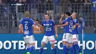 FIFA 17 - RC Strasbourg vs Stade Brestois | Domino's Ligue 2 @ Full Gameplay (PS4/Xbox One)