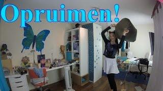 Kitta ruimt eindelijk haar kamer op! | Time lapse