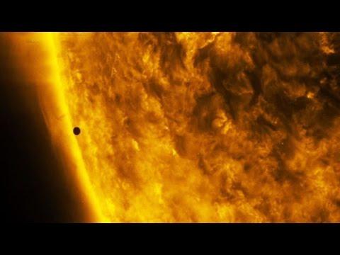 NASA footage: Stunning images of rare Mercury transit across the Sun