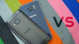 Samsung Galaxy S6 Vs HTC One M9 - Ultimate Comparison!