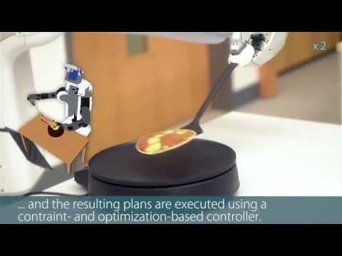 Роботи правят палачинки