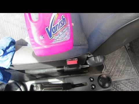 Как очистить салон автомобиля своими руками видео