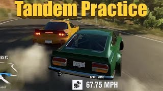 Forza Horizon 3 Widebody Cars Drift Session + Tandem Practice! Feat. JeepGuy
