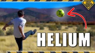 What Happens When A Ball Is Filled With Helium?