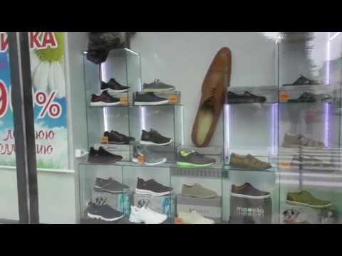 Большая туфля - наружная реклама обувного магазина