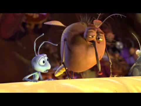 A Bug's Life (1998) - Blu Ray Trailer/Advert