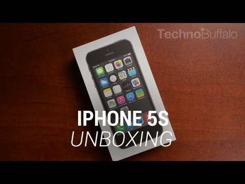 technobuffalo - iPhone 5s Unboxing iPhone 5s Hands-On: http://bit.ly/1aZGtYG iPhone 5s Touch ID Demo and Setup: http://bit.ly/1dwHF3t After many tireless months of speculati...