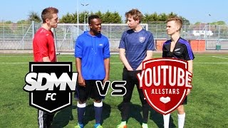 SIDEMEN FC VS YOUTUBE ALL STARS CHALLENGES! MAKE SURE YOU GET INVOLVED!Youtubers involvedSimon - http://www.youtube.com/MiniminterJoe Sugg - http://www.youtube.com/ThatcherJoeKSI - http://www.youtube.com/KSIOlajideBT For more information check out - http://www.sidemenfc.comSUBSCRIBE: http://bit.ly/1OLZDDlCheck Out More FIFA, Football, and Life Content Here:► Snapchat - Calfreezyy► Instagram - http://www.instagram.com/realCalfreezy► Twitter - http://twitter.com/Calfreezy► Facebook - http://www.facebook.com/Calfreezy► Vine - https://vine.co/u/928889659206017024► Second Channel - http://www.youtube.com/MoreCalfreezyHOW I RECORD MY GAMEPLAY! - http://e.lga.to/cAbout Calfreezy: I am a FIFA, football, and comedy YouTuber that brings consistent entertainment with my unique videos. Subscribe to up your FIFA game, see me pack the best Ultimate Team players, collab with some of my YouTube friends, and just mess around!