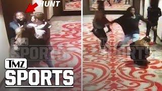 KC Chiefs Running Back Kareem Hunt Brutalizes and Kicks Woman in Hotel Video | TMZ Sports
