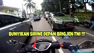Video MOBIL BRIGJEN TNI AJA MINGGIR KAMU KAPAN ? | ESCORTING AN AMBULANCE #16 MP3, 3GP, MP4, WEBM, AVI, FLV Maret 2019
