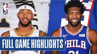 PELICANS at 76ERS   FULL GAME HIGHLIGHTS   December 13, 2019 by NBA