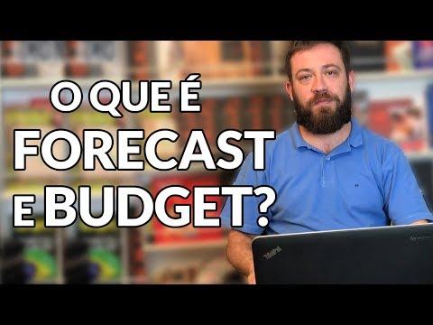 O que é Forecast e Budget?