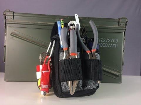 Grab & Go Compact Tool Kit: Simple Toolkit For Repairs (видео)
