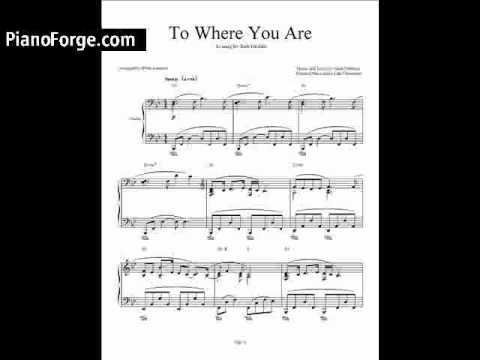 To Where You Are - Josh Groban video tutorial preview