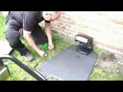 So installiert man Kabel für Mähroboter heute.ELIET Kabelverlegemachine für Automower / Robotermäher
