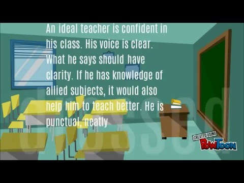 what do you think about an ideal teacher