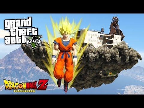 GTA 5 Mods - DRAGON BALL Z \