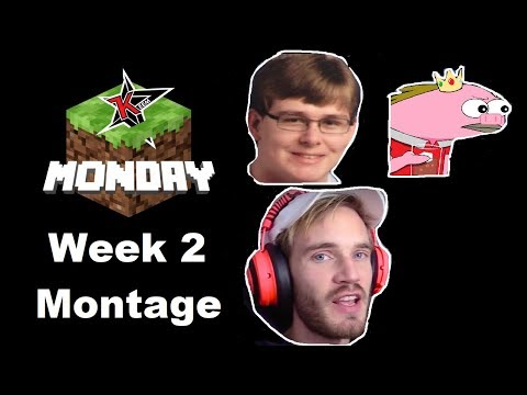 Minecraft Monday Week 2 In 8 Minutes (Montage)